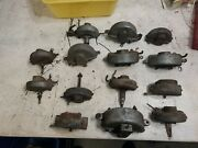 Vintage Lot Of 14 1930andrsquos 1940andrsquos Vacuum Wiper Motors Trico Gm Chevy Ford W2