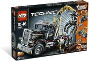 Lego Technic Logging Truck 9397 =2 In 1=power Functions= New