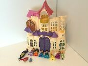 Sofia The First Magical Talking Castle Playset King Roland 10 Figures No Sound