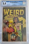 Weird Tales Of The Future 8 Cgc 2.5 - 2113964011 - Classic Horror Cover