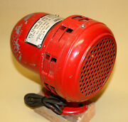 Vintage Us Army, Siren Mars Signal Light Co, Police Fire, Red Emergency Military