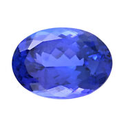 Loose Gemstone Aaaa Tanzanite Oval Faceted For Jewelry Gift Making Cts 7.50