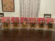 Dune 1984 Ljn Movie Action Figure Complete Set Vintage Rare And In Acrylic Case