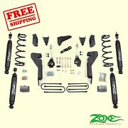 6 Front And Rear Suspension Lift Kit Fits Dodge Ram 2500 4wd 2003-2007 Zone