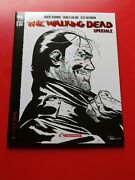 Negan Lives Foil Logo Bandw Exclusive Limited And Numbered Euro Variant Bu76