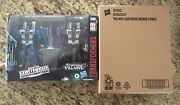 Transformers Earthrise Seekers Thundercracker And Skywarp + Dirge And Ramjet