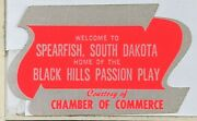 1970s Spearfish South Dakota Black Hills Passion Play Chamber Of Commerce Decal