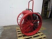Amerex 491 Wheeled Abc Dry Chemical Fire Extinguisher 300lb 50and039 Hose