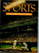 Original 1954 Sports Illustrated Magazine 1st Issue W Topps Baseball Cards, Ads