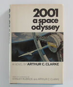 2001 A Space Odyssey. Signed By Arthur C. Clark. B.c. First Edition 1968.