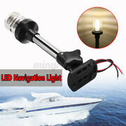 Pactrade Marine Boat Yacht Fold Down Led Navigation Anchor Pole Light Stern Lamp