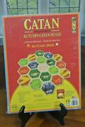 Catan Accessories Autumn Catan Hexes 2018 Expansion Board Game Limited Release