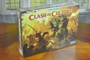 Clash Of Cultures Board Game New And Factory Sealed Z-man Games