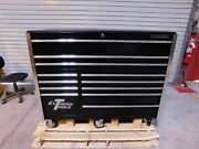 Extreme Tools 12 Drawer Steel And Aluminum Roller Cabinet Rx552512rcbk