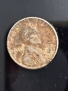 1943-d Lincoln Steel Wheat Cent Penny