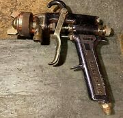 Used Binks Model 7 36sg Paint Spray Gun With Missing Cup