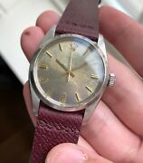 Vintage Rolex Oyster Precision Ref 6426 Manual Wind Oxidized Patina Dial Watch
