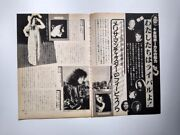 Carly Simon Rita Coolidge Natalie Cole Liza Minnelli Bowie Clippings Japan 1970s