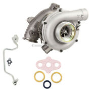 For Ford Club Wagon Super Duty Turbo Turbocharger W/ Gaskets And Oil Line