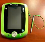 Leapfrog Leappad 2 Explorer Learning System Green Edition, Excellent, 2-10 Yrs