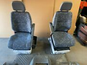 Dodge Sprinter Cargo Can 2500 3500 Front Cloth Bucket Seats With Flooring