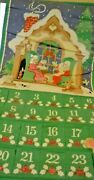 Vintage 1987 Avon Count Down To Christmas Advent Calendar With Original Mouse