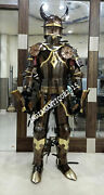Collectible Knight Suit Of Armor Ancient Wearable German Full Body Armor Costume