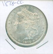 Choice Or Better 1878-cc Morgan Dollar - Check Out The Pictures
