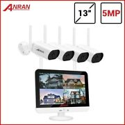 5mp H.265 Ultra Hd Video Home Security System Outdoor Wireless Ip Camera Nvr Kit