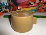 Vintage Aladdin,lite Brown Thermos Cup-for Thermoses W/metal Tops-use Lox -30