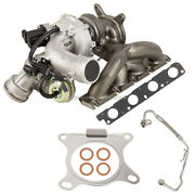 For Audi A3 Vw Passat Tiguan Oem Turbo Turbocharger W/ Gaskets And Oil Line