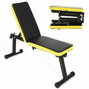 Adjustable Weight Benchworkout Bench Strengthtraining Benches Bench Pressincl...