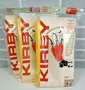 Lot Of 25 New Genuine Kirby Style 2 Heritage 1 Vacuum Cleaner Paper Bags
