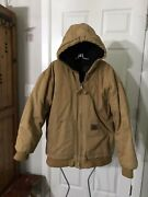 Mens Old Mill Insulated Work Coat Sz L