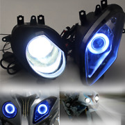 Blue Hid Projector Motorbike Headlight Assembly Light For Bwm S1000rr 2009-2014