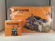 Dept 56 Lot Of 2 Lot 13 Crystal Lake + Two-ply Fun Sv Halloween D56 Trailerpark