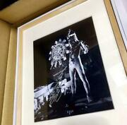Ultra 2020 The Challenge Art Frame Autographed By Toshi Furuya