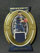 Panini Crown Royal Knights Of The Round Table Jamal Murray 05/25 Jersey Card
