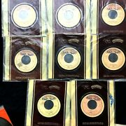Kiss Lot Of 8 Mexican Promo Singles Rare Mexico Collection Hard To Find Unmasked