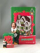 Dept 56 Lot Of 2 Santa's Toy Shop + The Twins' Happy Dance D56new Elf The Movie