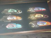 Harley Davidson Collectable Knives 17 Knives 2 Display Cases