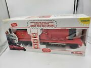 Lionel 8-85121 James The Red Engine G Scale Brand New Thomas And Friends Train