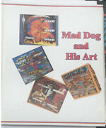 Mad Dog And His Art - Pinball Book About Dave Christensen - New - Out Of Print