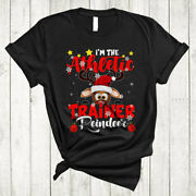 Iand039m The Athletic Trainer Reindeer Funny Christmas Santa Athletic Trainer T-shirt