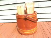Sugar Bucket - Large Firkin - Perfect Size For Holding Firewood