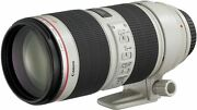 New Canon Ef70-200mm F2.8l Is Ii Usm Lens From Japan
