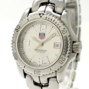Tag Heuer Link Professional 200 Women's Watches Quartz Ss Silver Dial