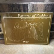 Janet Arnold Patterns Of Fashion 2 1860-1940 Shipped Expedited With Insurance