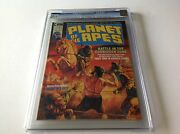Planet Of The Apes 2 Cgc 9.4 Battle In Forbidden Zone Ape City Lot 1 Marvel 1974