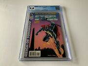 Steel 1 Cgc 9.8 White Pages From Pages Of Superman Dc Comics 1994